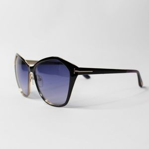 Tom Ford TF 391 05B Lena Butterfly Sunglasses 58mm